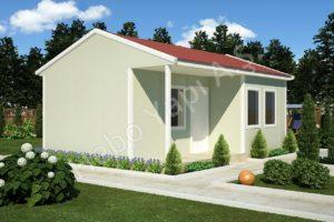 Едноетажни сглобяеми къщи